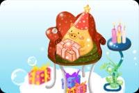 Chúc Mừng Sinh Nhật Bé Yêu Mẫu Nền Thư