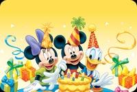 Các Nhân Vật Hoạt Hình Wal Disney Mẫu Nền Thư