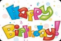 Chữ Đẹp Happy Birthday Mẫu Nền Thư