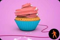 Bánh Cupcake By Sayitwithps Mẫu Nền Thư