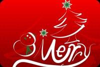 Chúc Bạn Noel An Lành Mẫu Nền Thư