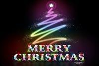 Mừng Ngày Chúa Giáng Sinh Mẫu Nền Thư