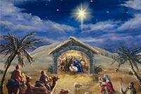 Đêm Chúa Giáng Sinh Mẫu Nền Thư