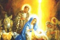 Đêm Đông Chúa Sinh Ra Đời Mẫu Nền Thư