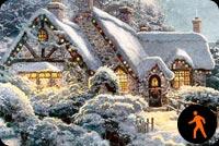 Chúc Mừng Giáng Sinh Mẫu Nền Thư