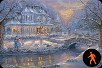 Giáng Sinh Tuyệt Vời Mẫu Nền Thư