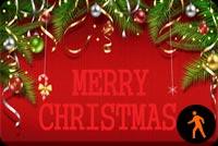 Giáng Sinh Hạnh Phúc & Nhiều Yêu Thương Mẫu Nền Thư
