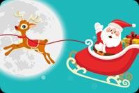 Ông Noel Vấy Tay Mừng Giáng Sinh Mẫu Nền Thư