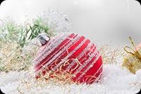Trang Trí Christmas Mẫu Nền Thư