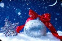 Chúc Mừng Giáng Sinh & Năm Mới An Vui Mẫu Nền Thư