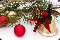 Tiếng Chuông Giáng Sinh Mẫu Nền Thư