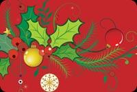 Chúc Bạn Giáng Sinh An Lành Mẫu Nền Thư