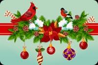 Giáng Sinh Hạnh Phúc Mẫu Nền Thư