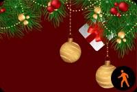 Chúc Mừng Giáng Sinh Vui Vẻ  Mẫu Nền Thư