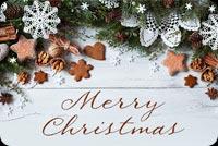 Trang Trí Giáng Sinh Mẫu Nền Thư