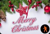 Merry Christmas Mẫu Nền Thư Động Mẫu Nền Thư