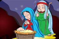 Mừng Ngày Chúa Sinh Ra Đời Mẫu Nền Thư