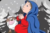 Mong Ước Một Giáng Sinh An Lành Mẫu Nền Thư