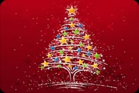 Biểu Tượng Của Mùa Giáng Sinh Mẫu Nền Thư