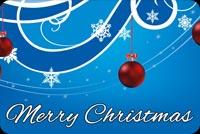 Chúc Giáng Sinh & Năm Mới An Lành Mẫu Nền Thư