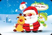 Các Biểu Tượng Của Mùa Noel Mẫu Nền Thư