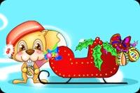 Giáng Sinh Vui Vẻ Mẫu Nền Thư
