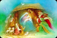 Kỷ Niệm Ngày Chúa Sinh Ra Đời Mẫu Nền Thư
