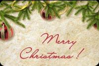 Giáng Sinh Đã Đến Rồi Mẫu Nền Thư