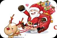 Santa Claus: Lên Đường Mẫu Nền Thư