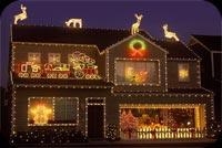 Trang Trí Nhà Cho Ngày Noel Mẫu Nền Thư