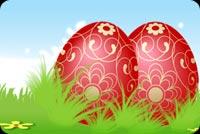 Trứng Đẹp Cho Lễ Phục Sinh Mẫu Nền Thư