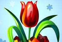 Hoa Tulip Cho Lễ Phục Sinh Mẫu Nền Thư