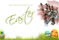 Chúc Bạn Bình An Nhân Ngày Easter Mẫu Nền Thư
