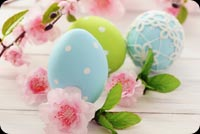 Hoa, Trứng Happy Easter Mẫu Nền Thư
