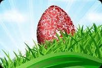 Khung Nền Đẹp Easter Mẫu Nền Thư