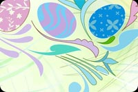 Khung Hình Easter Trang Nhã Mẫu Nền Thư