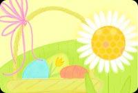Thiệp Đẹp Mùa Easter Mẫu Nền Thư