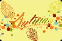 Autumn Mẫu Nền Thư