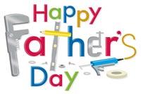 Happy Father's Day Mẫu Nền Thư