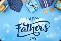 Happy Father's Day Quà Tặng Cha Mẫu Nền Thư