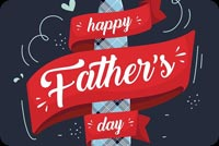 Happy Fathers Day Mẫu Nền Thư