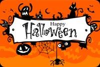 Halloween Vui Vẻ Mẫu Nền Thư
