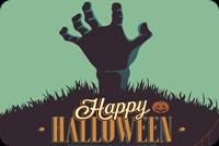 Halloween Zombie Party Mẫu Nền Thư