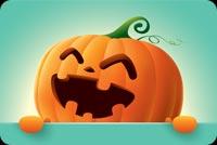 Chúc Bạn Halloween Vui Vẻ Mẫu Nền Thư