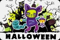 Halloween Kids Fun Mẫu Nền Thư