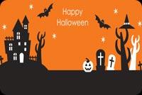 Trang Trí Halloween Email Mẫu Nền Thư