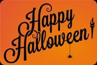 Happy Halloween Spider Mẫu Nền Thư