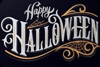 Happy Halloween Mẫu Nền Thư