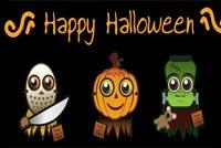 Lễ Hội Hóa Trang Happy Halloween Mẫu Nền Thư