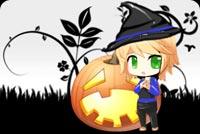 Chúc Halloween Vui Vẻ Mẫu Nền Thư